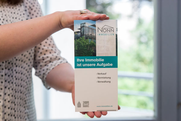 Nonn Immobilien Flyer